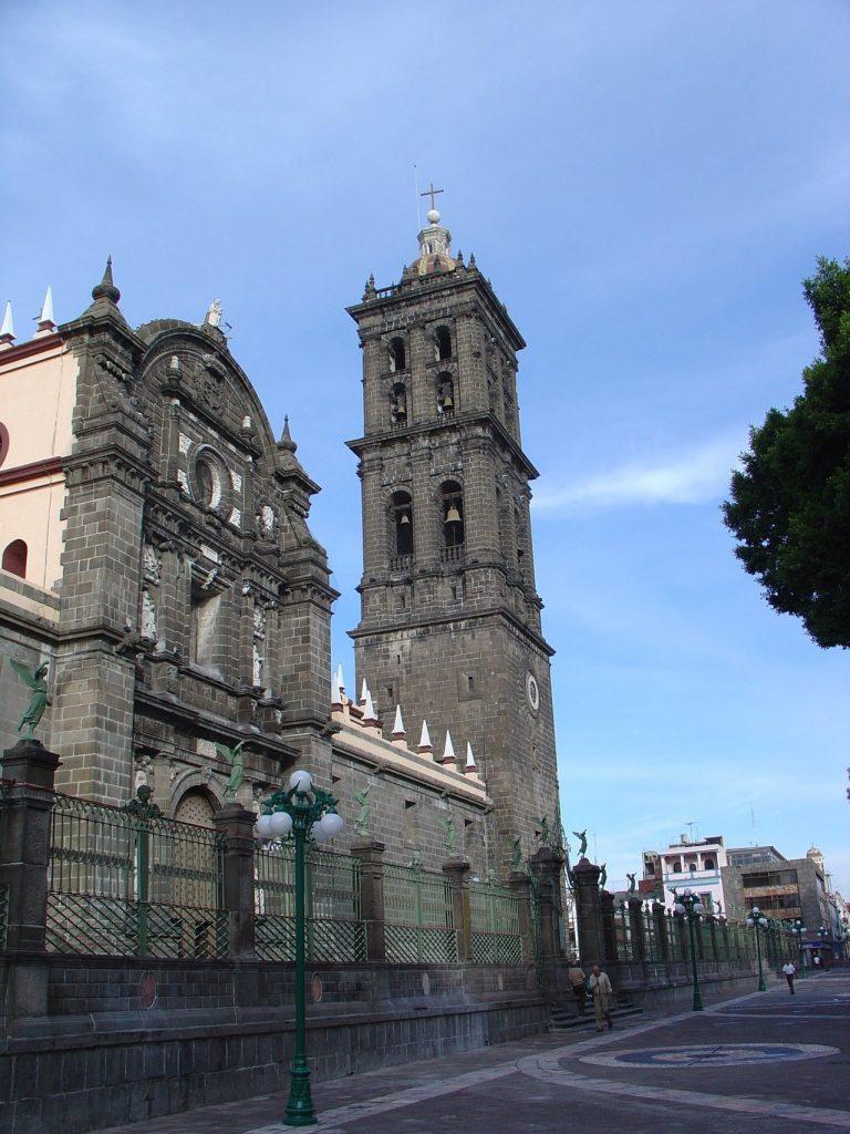 La enigmática Catedral de Puebla